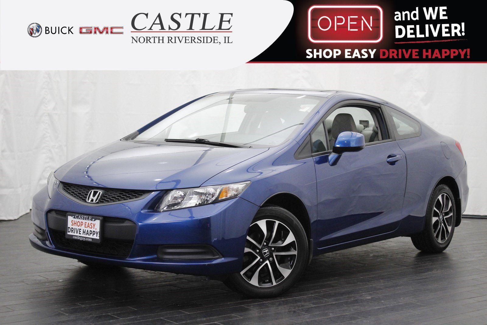 Pre-Owned 2013 Honda Civic Cpe EX